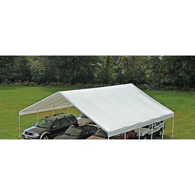 ShelterLogic White Canopy Replacement Cover Fits