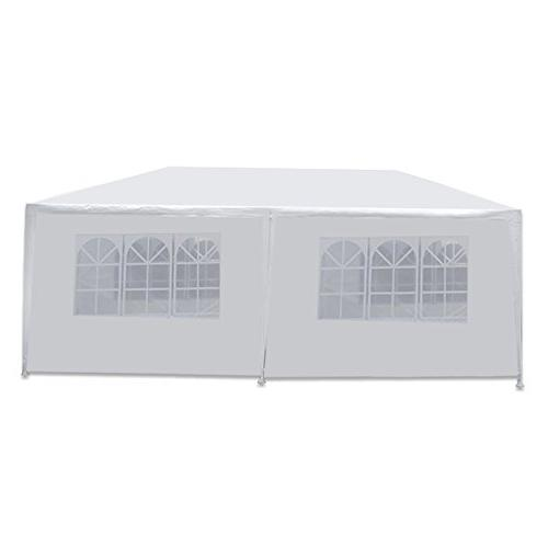 Smartxchoices 10' x 20' Outdoor Canopy 6 Removable Sidewalls and Heavy Party Events BBQ