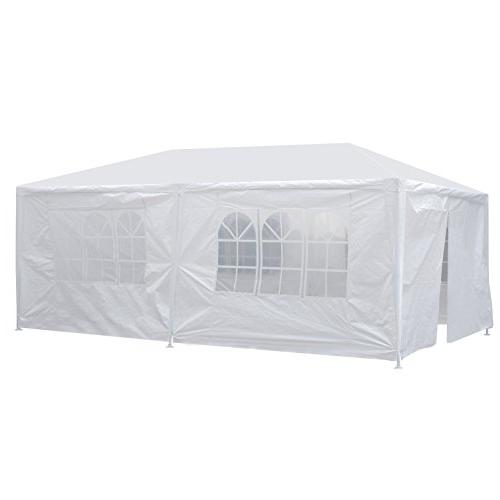 Smartxchoices Outdoor Canopy with Heavy Duty Tent Party Wedding Beach BBQ