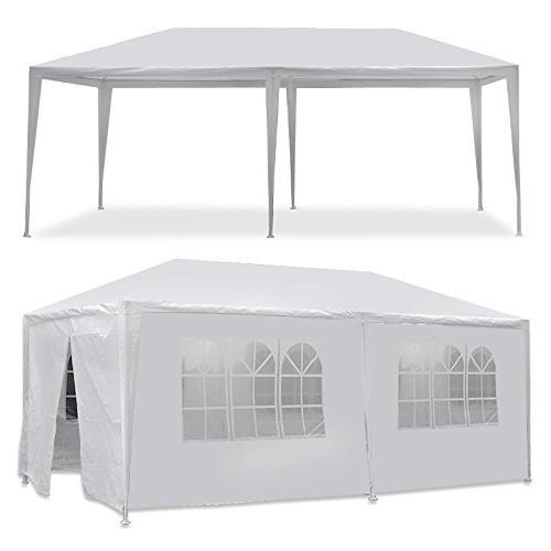 white waterproof gazebo canopy tent