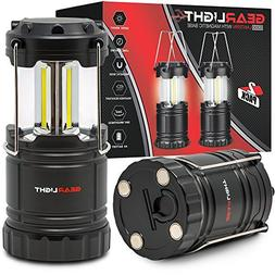 Gearlight Led Lantern With Magnetic Base & Hook Portable Bat
