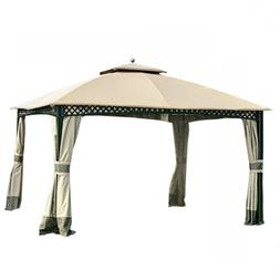 lcm1202b windsor dome gazebo replacement canopy beige
