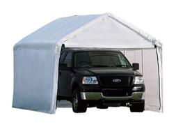 ShelterLogic MaxAP 2-in-1 Canopy with Enclosure Kit, White,