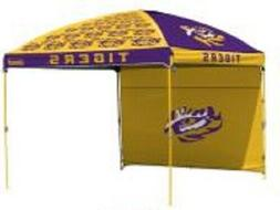 LSU Tigers NCAA Canopy Tent & Wall Tailgating Beach Party Fl