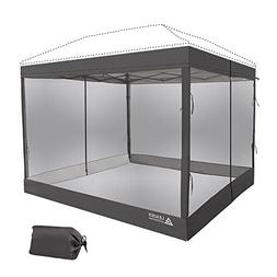 Leader Accessories Mesh Screen Zippered Wall Panels for 10'