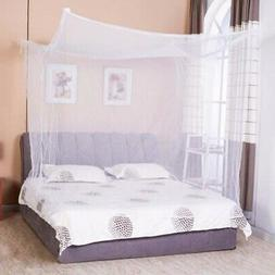 Mosquito Net 4 Corner Post Bed Canopy Twin Full Queen King S