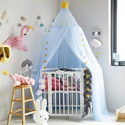 Hoomall Mosquito Net Bed Canopy Round Lace Dome Princess Pla