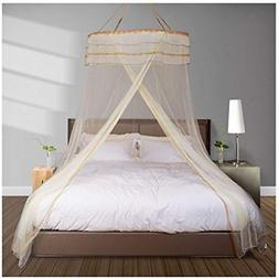 Mosquito Net Bed For Double Fine Mesh Material Flexible Stee