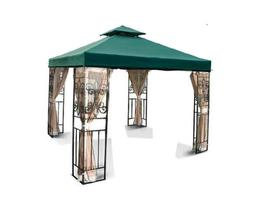 New 10'x10' 2-Tiered Replacement Garden Gazebo Canopy Top Su