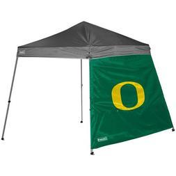 NCAA Oregon 10 x 10 Slant Leg Canopy Wall