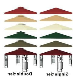 New 10'x10' Replacement Canopy Top Patio Pavilion Gazebo Ten