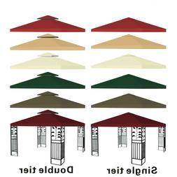 New 10'x10' Replacement Canopy Top Patio Pavilion Gazebo Ten