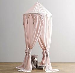 NEW Restoration Hardware Baby & Child Cotton Voile Play Cano