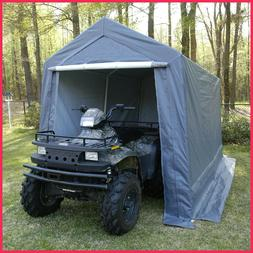 King Canopy Storage Shelter - 7' x 12' , Steel frame Includ