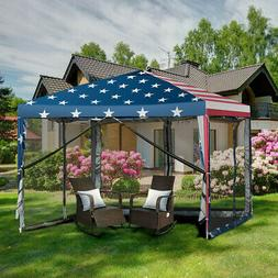 Outdoor 10' x 10' Pop-up Canopy Tent Gazebo Canopy
