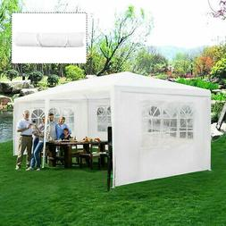 Outdoor 10'x20' Canopy Tent Heavy Duty Wedding Party Sidewal