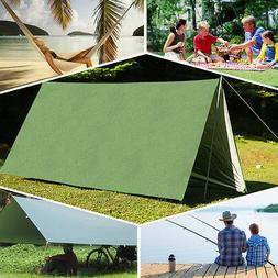 Outdoor Camping Waterproof Rain Tarp Tent Canopy Shelter Cov