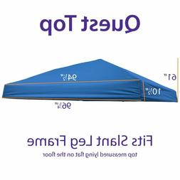 Outdoor EZ Pop Up 10x10 Canopy Replacement Top Quest Canopy