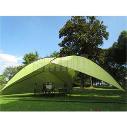 Outdoor Sun Shade Shelter Beach Canopy Camping Family Tent P