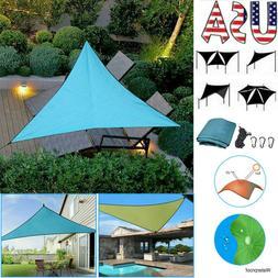 Outdoor Waterproof Garden Awning Sun Shade Sail Canopy Patio