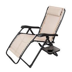 Timber Ridge Zero Gravity Lounge Chair Oversize XL Adjustabl