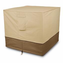 Veranda Collection Patio Air Conditioner Cover Square, Pebbl