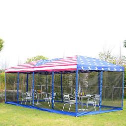10x20 Outdoor EZ Pop Up Wedding Party Tent Patio Gazebo Cano