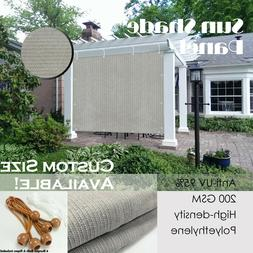Alion Home© Patio Shade Privacy Panel Pergola Cover Mesh 90