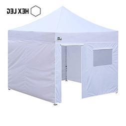 Eurmax Premium 10 x 10 Ez Pop up Canopy Commercial Grade Foo