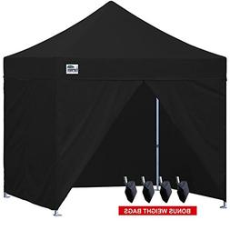 Eurmax 10 x 10 Pop up Canopy Commercial Tent Outdoor Party S