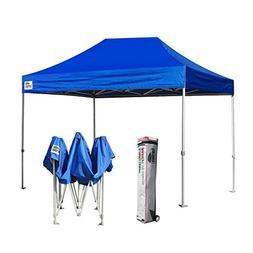 Eurmax 8 x 12 Pop up Canopy Party Tent Commercial Level w/De