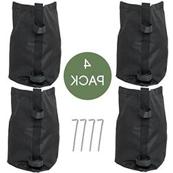Punchau Pop Up Canopy Weights - Set of 4 Weight Bags, Includ