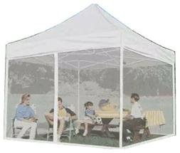 Impact Instant Canopy 10'x10' Pop Up Mesh Mosquito Net Sidew