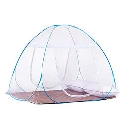 DaTong Pop-Up Mosquito Net Tent for Beds Anti Mosquito Bites