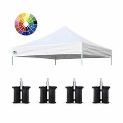Eurmax New Pop up 10x10 Replacement Instant Ez Canopy Top Co