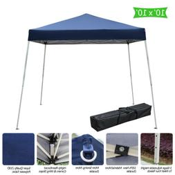 10x10 portable ez pop up canopy garden