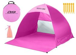 Pop Up Beach Tent Portable Sun Shade Shelter Outdoor Camping