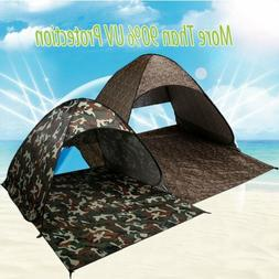 Pop Up Beach Tent Sun Shade Shelter Camping Hiking Canopy 2-