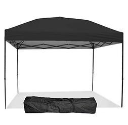 Punchau Pop Up Canopy Tent 10 x 10 Feet, Black - UV Coated,