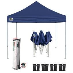 Pop Up Gazebo 10x10 Navy Blue 99% UV Canopy Instant Shelter