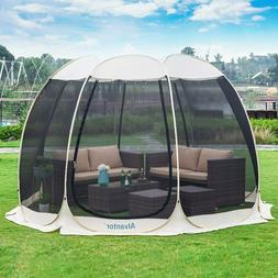 Pop Up Screen House Room Outdoor Camping Tent Canopy Gazebo