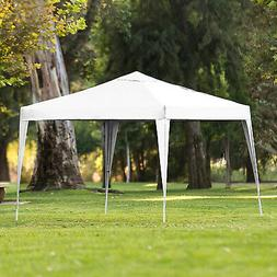 Pop Up Shade Outdoor Canopy, Large White - Best Choice Produ