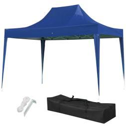 Portable 10x15 EZ Pop Up Canopy Garden Gazebo Wedding Party