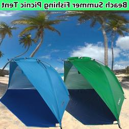 Portable Beach Canopy Shade Shelter Camping Fishing Outdoor