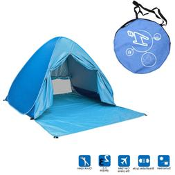 Portable Pop Up Beach Canopy Cabana Family Camping Tent Suns