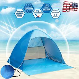 Portable Pop Up Beach Tent Canopy Cabana Family Camping Suns