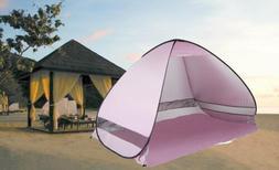Portable Pop Up Beach Canopy Sun Shade Shelter Outdoor Campi