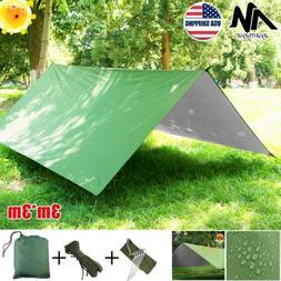 Portable Ultralight Tent Canopy Rain Fly Tarp Hammock Sun Sh