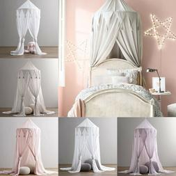 Princess Baby Mosquito Net Bed Kids Canopy Bedcover Curtain