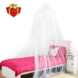 Home and More Store Princess Bed Canopy - Beautiful Silver S